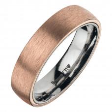 Кольцо из бронзы и титана