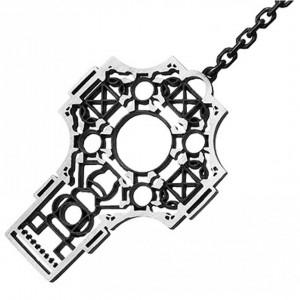 """Подвеска """"Греческий крест"""" из серебра"""