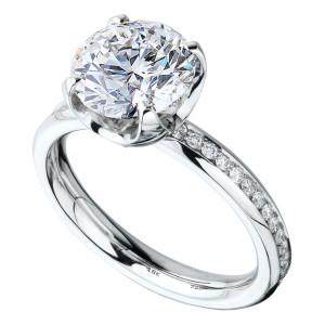 """Кольцо """"Метаморфозы"""" из золота с бриллиантами"""